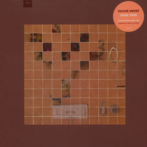 Touche Amore - Stage Four Colored Vinyl Edition
