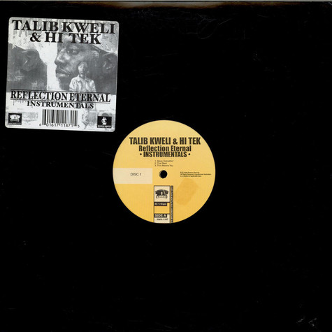 Talib Kweli & Hi-Tek: Reflection Eternal - Train Of Thought (Instrumentals)