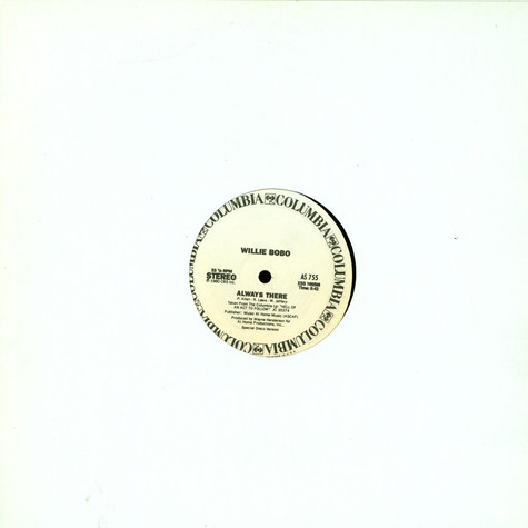 Willie Bobo / Rodney Franklin - Always There / The Groove