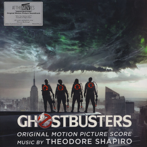 Theodore Shapiro - OST Ghostbusters (2016) Black Vinyl Edition