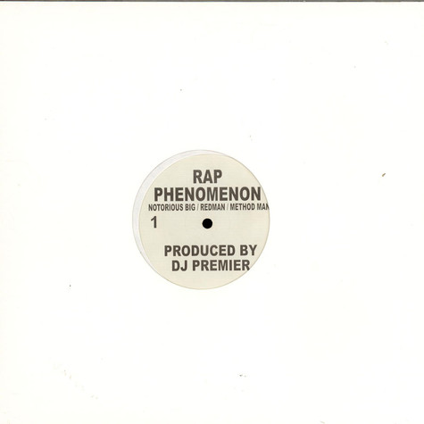 Notorious B.I.G. / Redman / Method Man b/w The Lox - Rap Phenomenon / Recognize