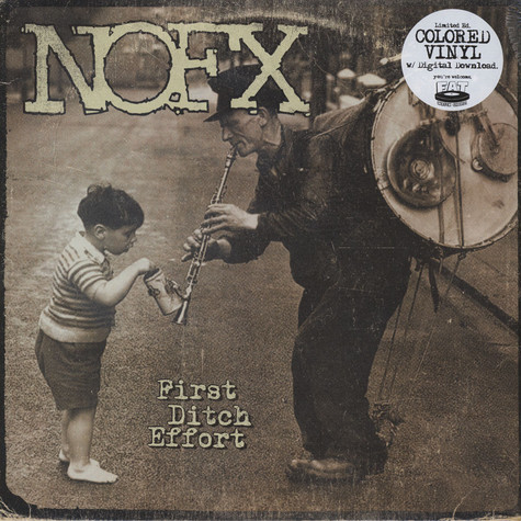 NOFX - First Ditch Effort Colored Vinyl Edition