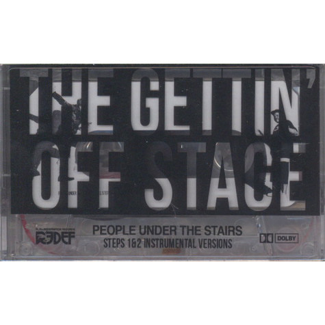 People Under The Stairs - The Gettin' Off Stage EP 1 & 2 Instrumentals