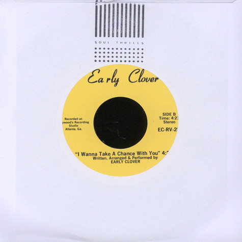 Early Clover - Who Are You / I Wanna Take A Chance With You