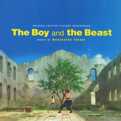 Masakatsu Takagi - OST The Boy And The Beast Blue Vinyl Edition
