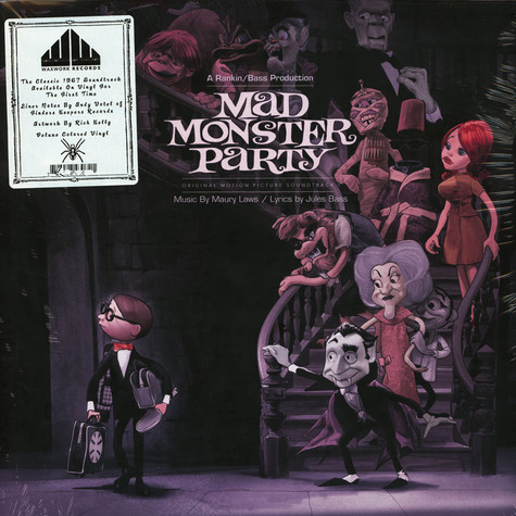 V.A. - OST Mad Monster Party Pink & Yellow Swirl Vinyl Edition