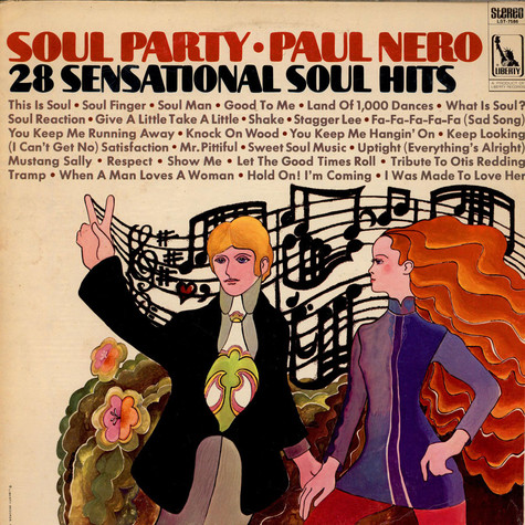 Paul Nero - Soul Party (28 Sensational Soul Hits)