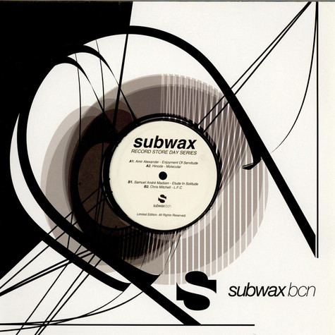 V.A. - Subwax Record Store Day Series 2014