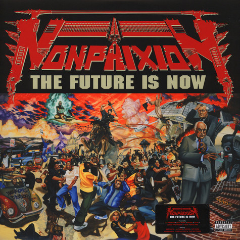 Non Phixion - The Future Is Now Red Vinyl Edition