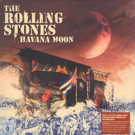 Rolling Stones, The - Havana Moon