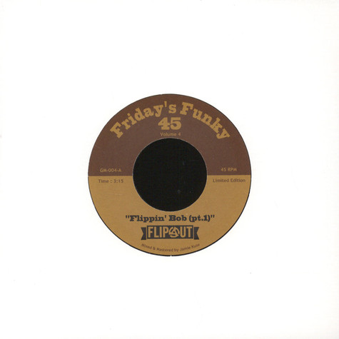 DJ Flipout - Friday's Funky 45 Volume 4