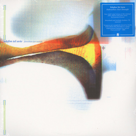 Telefon Tel Aviv Fahrenheit Fair Enough Vinyl 2lp