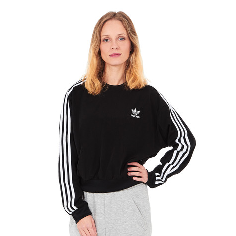 Adidas Adidas Stripes 3 Crop Sweater 3 Crop Stripes Adidas Sweater zVUSMqp
