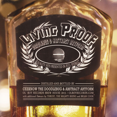 Living Proof (Ceeknow The Doodlebug of Digable Planets & Abstract Artform) - Living Proof