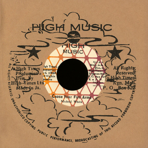 Michael White - Cease Your Fire Arms / Slavery