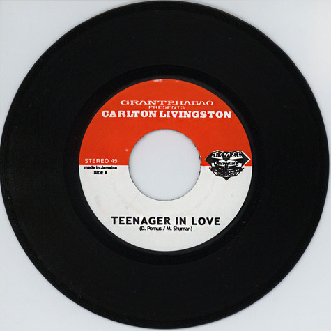 Grant Phabao & Carlton Livingston - Teenager In Love / Version