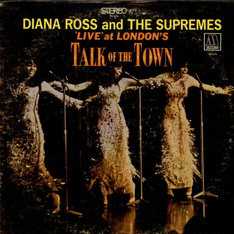 Diana Ross & The Supremes - 'Live' At London's Talk Of The Town