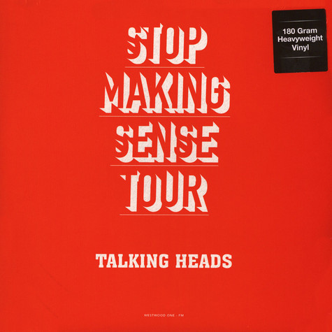 Talking Heads - Stop Making Sense Tour