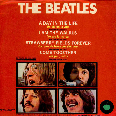 Beatles, The - A Day In The Life