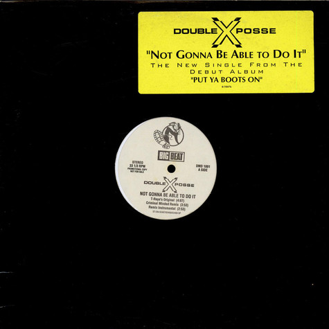 Double XX Posse - Not Gonna Be Able To Do It