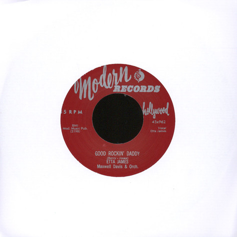 Etta James - Good Rockin' Daddy / The Wall Flower (Roll With Me Henry)