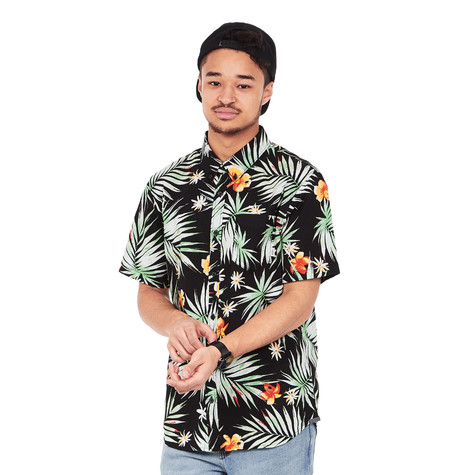 7d84805459 Vans - Daintree Shirt (Black Decay Palm)