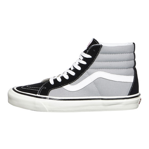 0a479b7d02 Vans - UA SK8-Hi 38 DX (Anaheim Factory) (Black   Light Grey)