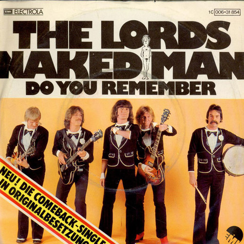 Lords, The - Naked Man