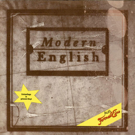 Modern English - I Melt With You / Someone's Calling