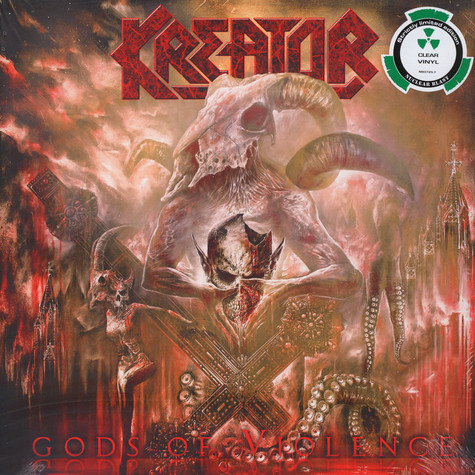 Kreator - Gods Of Violence Clear Vinyl Edition