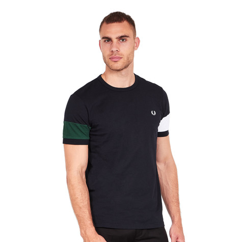 Fred Perry - Blocked Panel T-Shirt