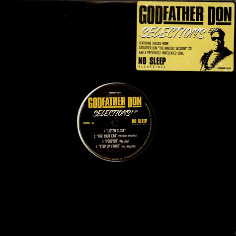 Godfather Don - Selections EP