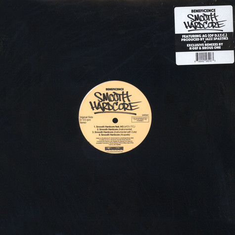 Beneficence - Smooth Hardcore Remix White Vinyl Edition