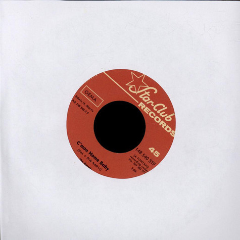 Escorts, The - Dizzy Miss Lizzy / C'mon Home Baby