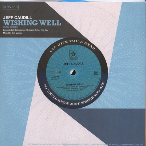 Jeff Caudill - Voice / Wishing Well Blue Vinyl Edition
