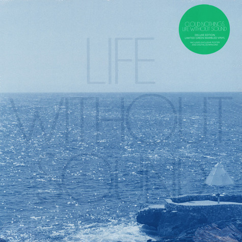 Cloud Nothings - Life Without Sound Green Marbled Vinyl Edition