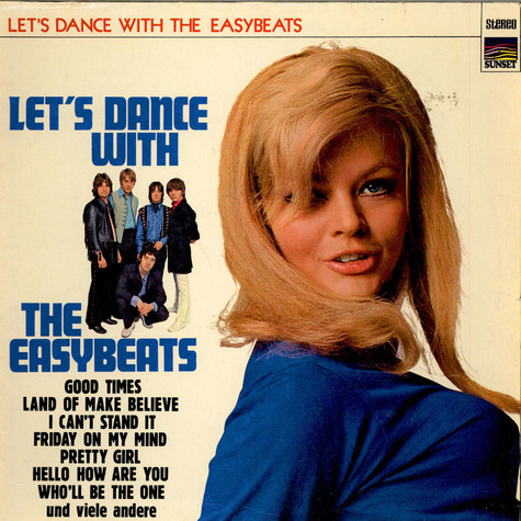 Easybeats, The - Let's Dance With The Easybeats