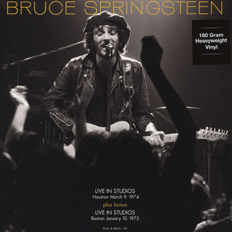 Bruce Springsteen - FM Studios Live in Houston Sept 3rd 1974 & in Boston Oct 1st 1973