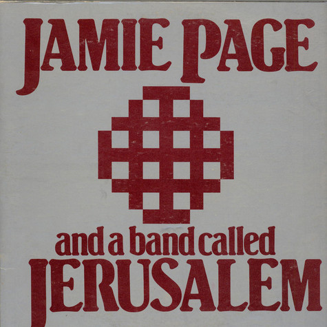 Jamie Page - Jamie Page And A Band Called Jerusalem