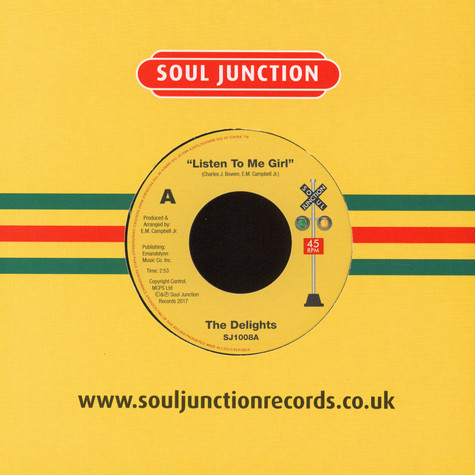 Delights, The - Listen To Me Girl / Tearra Just Loving You