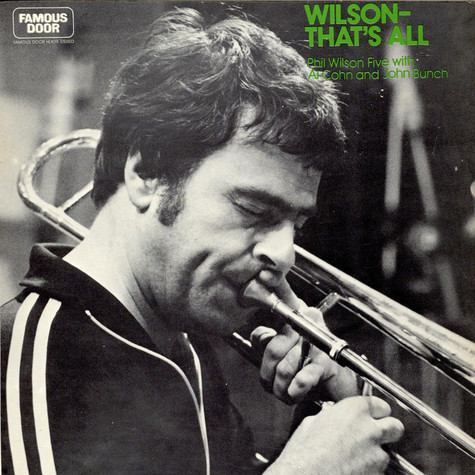 Phil Wilson - Wilson -That's All