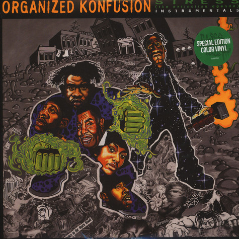 Organized Konfusion - Stress: The Instrumental Agenda Colored Vinyl Edition