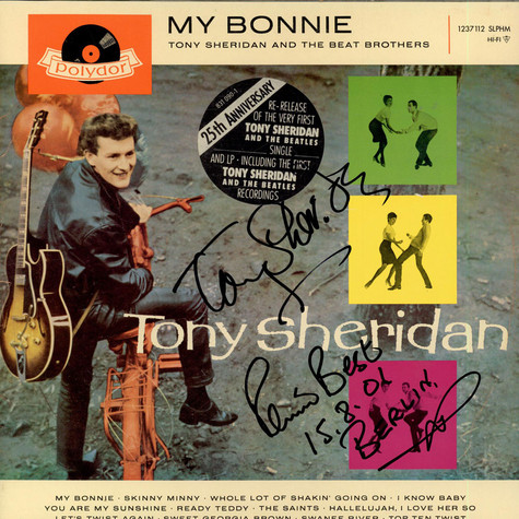 Tony Sheridan And The Beat Brothers - My Bonnie