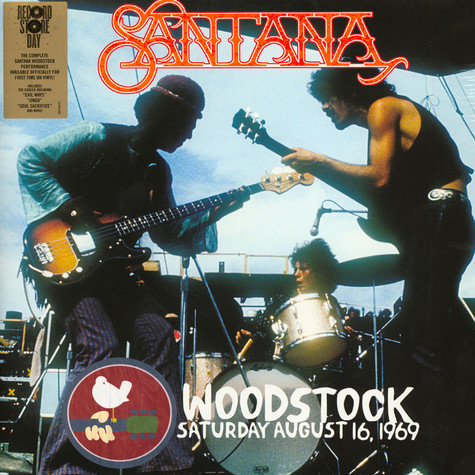 Santana - Woodstock Saturday August 16, 1969