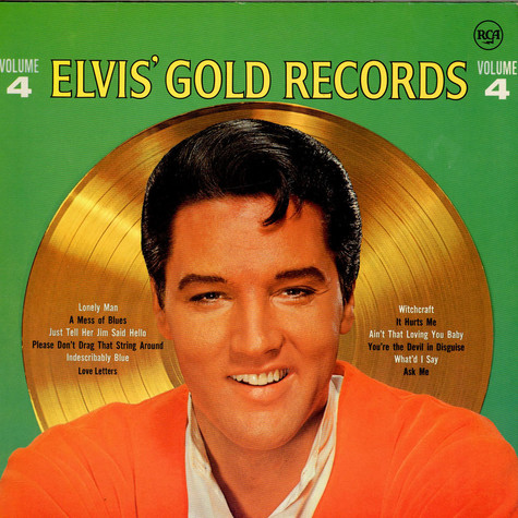 Elvis Presley - Elvis' Gold Records - Volume 4