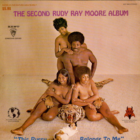 "Rudy Ray Moore - The Second Rudy Ray Moore Album - ""This Pussy Belongs To Me"""