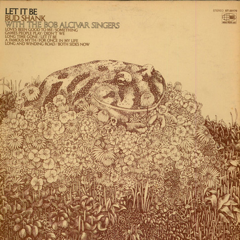 Bud Shank With The Bob Alcivar Singers - Let It Be