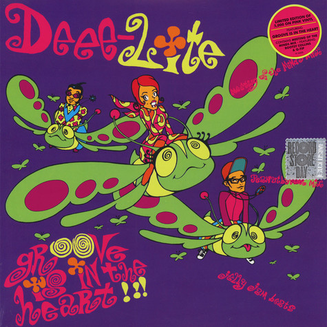 Deee-Lite - Groove Is In The Heart / What Is Love Pink Vinyl Edition