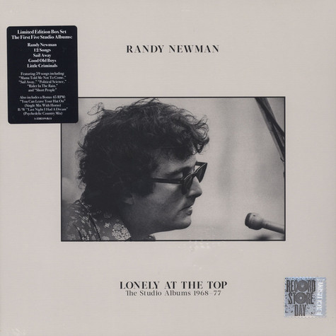 Randy Newman - Lonely At The Top: The Studio Albums 1968-1977