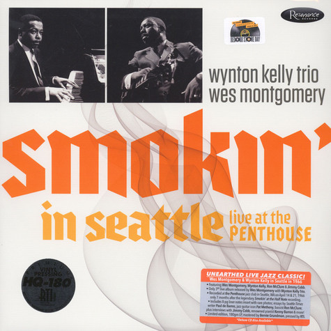 Wes Montgomery with The Winton Kelly Trio - Smokin In Seattle: Live At The Penthouse: 1966